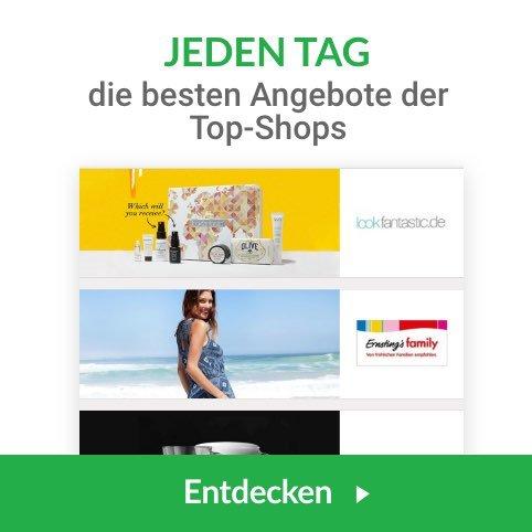 Daily Deals by iGraal: Täglich 3 neue Top-Angebote, Cashbackerhöhungen & Exklusive Gutscheincodes