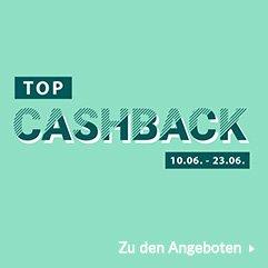 TOP Cashback 10. Juni - 23. Juni