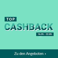 TOP Cashback 16.09. - 22.09.